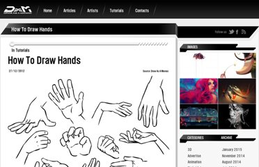 http://drawasamaniac.com/2012/12/how-to-draw-hands-tutorials.html