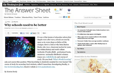 http://www.washingtonpost.com/blogs/answer-sheet/wp/2013/01/03/why-schools-used-to-be-better/