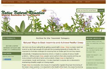 http://www.nativenaturalremedies.com/category/psychological/insomnia