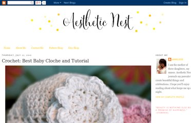 http://www.aestheticnest.com/2010/07/crochet-best-baby-cloche-and-tutorial.html