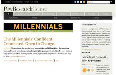 http://www.pewresearch.org/millennials/