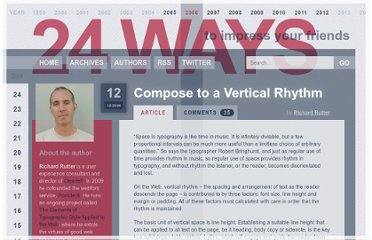 http://24ways.org/2006/compose-to-a-vertical-rhythm/
