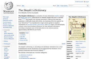 http://en.wikipedia.org/wiki/The_Skeptic%27s_Dictionary