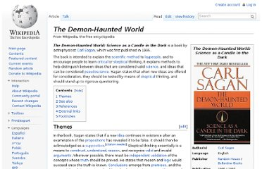 http://en.wikipedia.org/wiki/The_Demon-Haunted_World