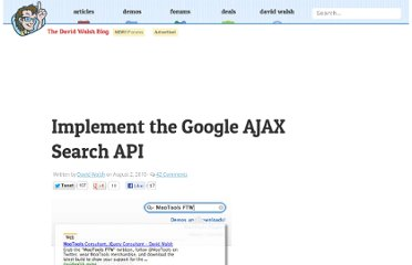 http://davidwalsh.name/google-ajax-search