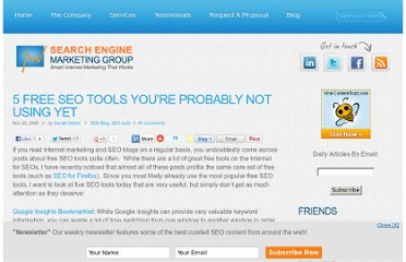 http://sem-group.net/search-engine-optimization-blog/5-free-seo-tools-not-using-yet/