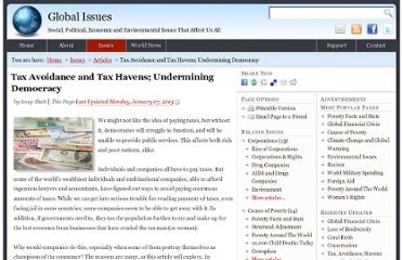 http://www.globalissues.org/article/54/tax-avoidance-and-havens-undermining-democracy