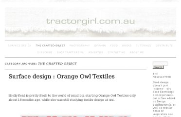 http://tractorgirl.com.au/category/craftobject