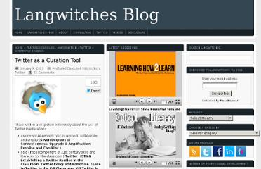 http://langwitches.org/blog/2013/01/03/twitter-as-a-curation-tool/#