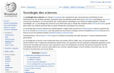 http://fr.wikipedia.org/wiki/Sociologie_des_sciences