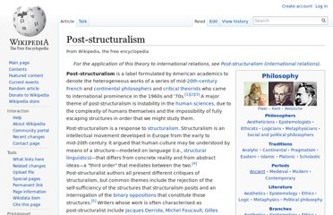 http://en.wikipedia.org/wiki/Post-structuralism