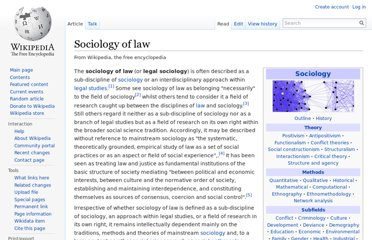 http://en.wikipedia.org/wiki/Sociology_of_law