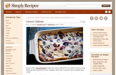 http://www.simplyrecipes.com/recipes/cherry_clafouti/