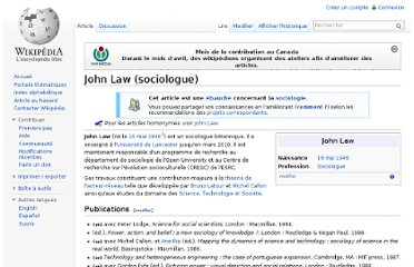 http://fr.wikipedia.org/wiki/John_Law_(sociologue)