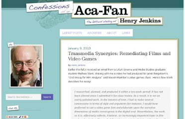 http://henryjenkins.org/2013/01/transmedia-synergies-remediating-films-and-video-games.html