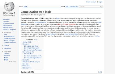 http://en.wikipedia.org/wiki/Computation_tree_logic