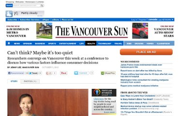 http://www.vancouversun.com/health/think+Maybe+quiet/7340141/story.html