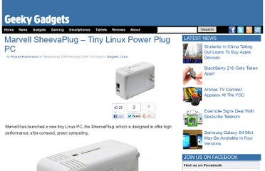 http://www.geeky-gadgets.com/marvell-sheevaplug-tiny-linux-power-plug-pc/