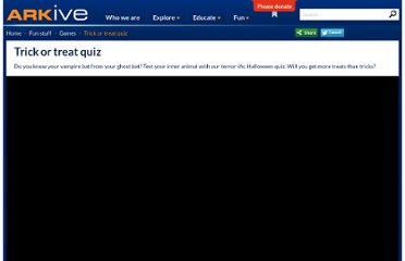 http://www.arkive.org/education/games/halloween-quiz