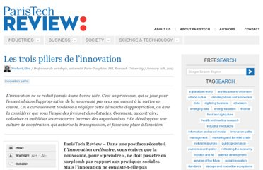 http://www.paristechreview.com/2013/01/11/trois-piliers-innovation/