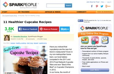 http://www.dailyspark.com/blog.asp?post=11_healthier_cupcake_recipes