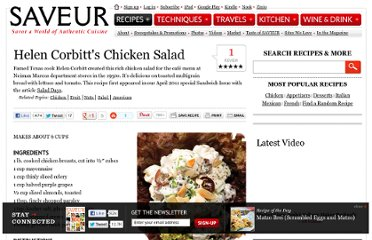 http://www.saveur.com/article/Recipes/Neiman-Marcus-Chicken-Salad