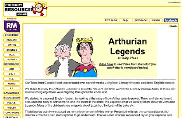 http://www.primaryresources.co.uk/english/kingarthur.htm
