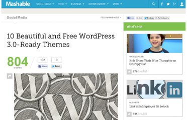 http://mashable.com/2010/08/04/wordpress-3-0-themes/