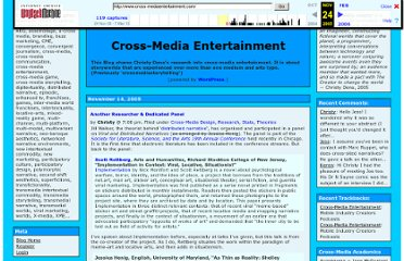 http://web.archive.org/web/20051124051842/http://www.cross-mediaentertainment.com/