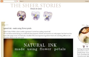 http://thesheerstories.blogspot.com/2012/08/natural-ink-made-using-flower-petals.html