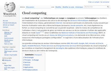 http://fr.wikipedia.org/wiki/Cloud_computing