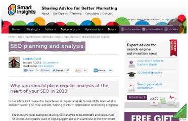 http://www.smartinsights.com/search-engine-optimisation-seo/seo-analytics/seo-planning/
