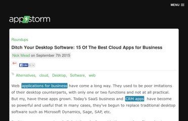 http://web.appstorm.net/roundups/15-web-alternatives-to-popular-desktop-software/