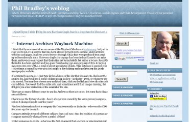 http://philbradley.typepad.com/phil_bradleys_weblog/2013/01/internet-archive-wayback-machine.html