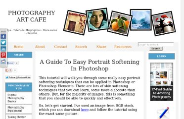 http://www.photography-art-cafe.com/easy-portrait-softening-in-photoshop.html