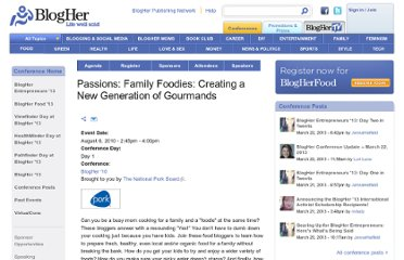 http://www.blogher.com/passions-family-foodies-creating-new-generation-gourmands