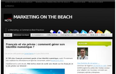 http://www.marketingonthebeach.com/francais-et-vie-privee-comment-gerer-son-identite-numerique/