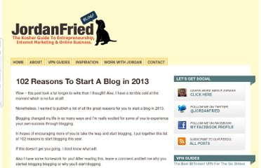 http://jordanfried.com/102-reasons-to-start-a-blog-in-2013/