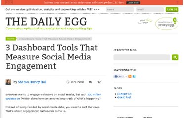 http://blog.crazyegg.com/2013/01/14/3-dashboards-to-build-social-media-engagement/
