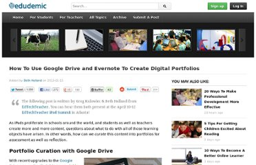 http://edudemic.com/2013/01/create-digital-portfolios/