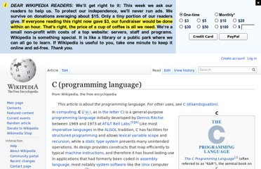 http://en.wikipedia.org/wiki/C_(programming_language)