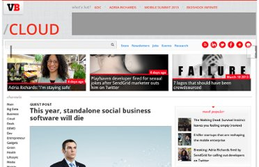 http://venturebeat.com/2013/01/16/this-year-standalone-social-business-software-will-die/