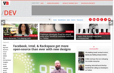 http://venturebeat.com/2013/01/16/facebook-intel-rackspace-get-more-open-source-than-ever-with-new-designs/