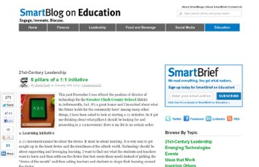 http://smartblogs.com/education/2013/01/16/the-6-pillars-11-initiative-brett-clark/