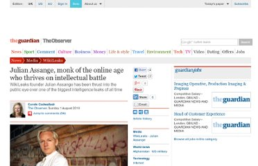 http://www.guardian.co.uk/media/2010/aug/01/julian-assange-wikileaks-afghanistan