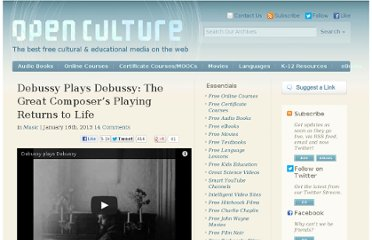 http://www.openculture.com/2013/01/debussy_plays_debussy_the_great_composers_playing_returns_to_life.html