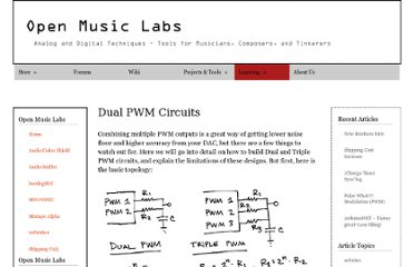 http://www.openmusiclabs.com/learning/digital/pwm-dac/dual-pwm-circuits/
