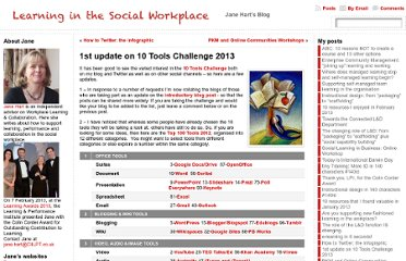 http://www.c4lpt.co.uk/blog/2013/01/17/1st-update-on-10-tools-challenge-2013/