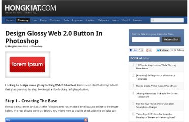 http://www.hongkiat.com/blog/create-cool-glossy-button-for-web/