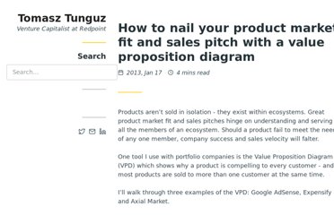 http://tomtunguz.com/how-to-nail-your-sales-pitch-with-a-value-proposition-diagram